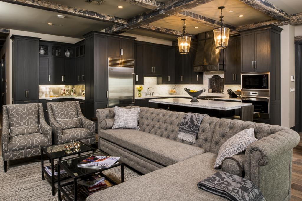 Interior design photos transitional style kitchen design for Kitchen design 70115